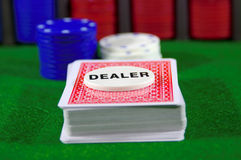 Kartenspiel stockbilder