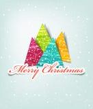 Kartenweihnachten Stockbild