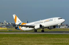 Karthago Airlines Boeing 737 Stock Photography