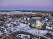 Karthago ist eine Kleinstadt in South Dakota stockbilder