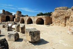 Karthago in Tunesien Lizenzfreie Stockfotos