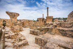 Karthago, Tunesien Stockfotografie