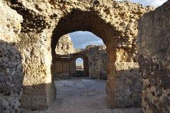 Karthago: Unesco-världsarvet med roman fördärvar av Epen royaltyfria foton