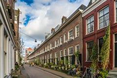 Karthuizerstraat的老修道院Karthuizerhof在Jordaan在阿姆斯特丹 免版税库存照片