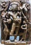 Kartikeya Hindoese Deity royalty-vrije stock foto