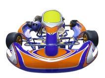 karting αγώνας αυτοκινήτων Στοκ Εικόνα