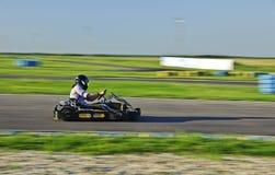 karting δρομέας Στοκ εικόνες με δικαίωμα ελεύθερης χρήσης