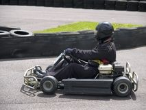 Karting. Go kart racing royalty free stock images