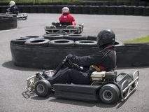 Karting Stockfotografie