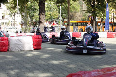 Karting. Red Bull Kart Fight - qualifications Sofia 29.09. 2012 Stock Photo