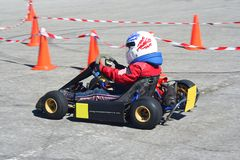 Karting Royalty Free Stock Images