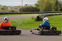 是Karting 免版税库存图片
