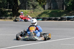 Karting Στοκ Εικόνες