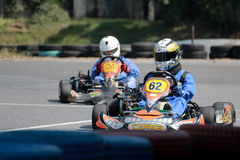 Karting images stock