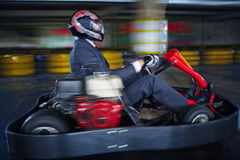 Karting businessman Stock Photo