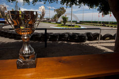 Karting cup Royalty Free Stock Images