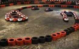 karting d'intérieur Photo libre de droits