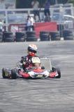 Karting demonstration Royaltyfri Foto