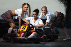 Karting Royalty Free Stock Photography