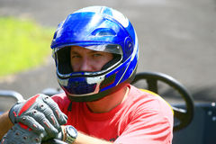 Karting pilot Stock Photos