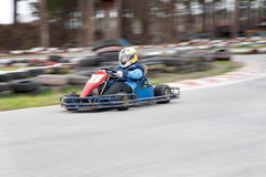 Karting race Royalty Free Stock Photos