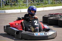 Karting race Stock Photography