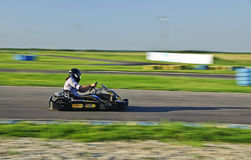 Karting racer Royalty Free Stock Images