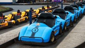Karting samochód, Plymouth, Devon, Zjednoczone Królestwo, Sierpień 20, 2018 obrazy royalty free