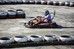 Karting track Stock Image