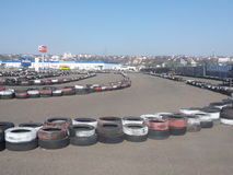Karting track Stock Photography