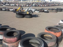 Karting track Stock Photo