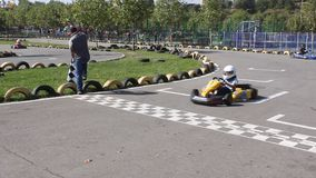 Karting stock video footage