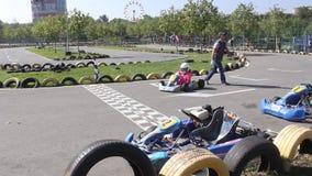 Karting stock video