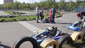 Karting stock footage