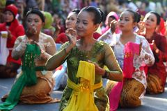 Kartini Day in Solo Stock Image