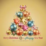 Kartka bożonarodzeniowa ilustracji