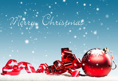 Kartka Bożonarodzeniowa Zdjęcie Royalty Free