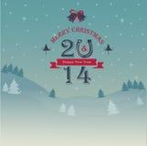 Kartka bożonarodzeniowa Obrazy Stock