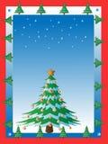 Kartka Bożonarodzeniowa. Zdjęcie Stock