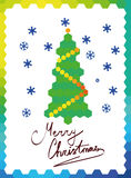 Kartka bożonarodzeniowa Obraz Royalty Free
