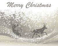 Kartka bożonarodzeniowa Zdjęcia Royalty Free
