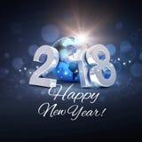 Kartka z pozdrowieniami 2018 Fotografia Stock