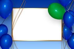 Kartka z pozdrowieniami Fotografia Stock