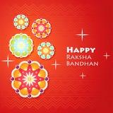 Kartka z pozdrowieniami dla Raksha Bandhan Zdjęcia Royalty Free