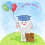 Kartka Z Pozdrowieniami: Do widzenia szkoła royalty ilustracja