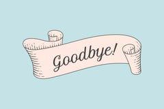 Kartka z pozdrowieniami z faborkiem i słowa powitaniem Obraz Stock