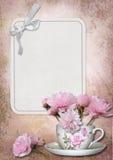Kartka z pozdrowieniami z przestrzenią dla fotografii lub teksta Fotografia Royalty Free