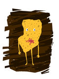 Kartoffel Chips Character Lizenzfreies Stockfoto