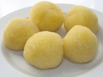Kartoffel dumplimgs Lizenzfreies Stockbild