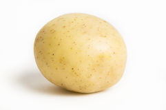 Kartoffel getrennt Stockbild